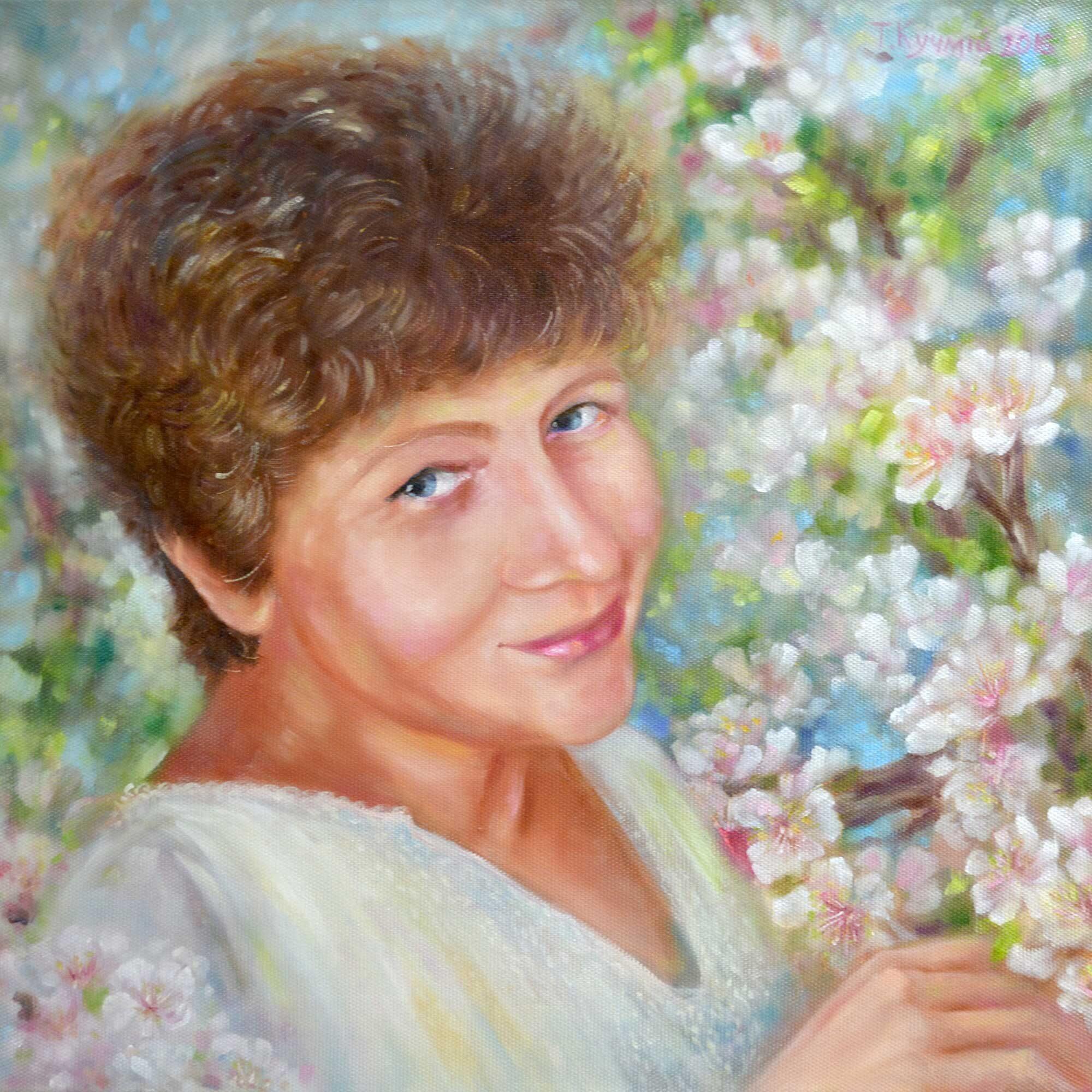 Яблуневий цвіт. 2016. Тетяна Кучмій
