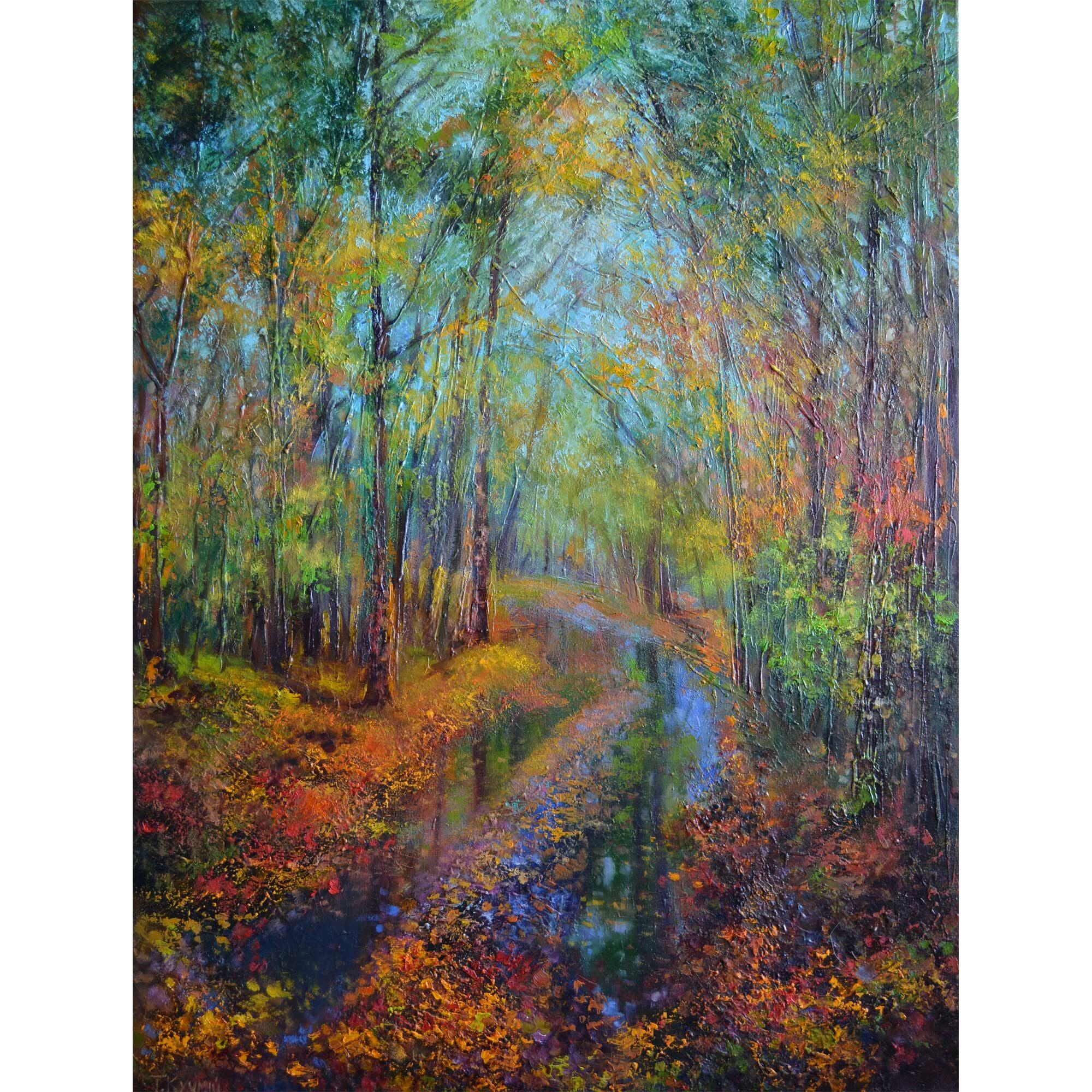 Осінь в Андріївському лісі, 2016, Кучмій Тетяна