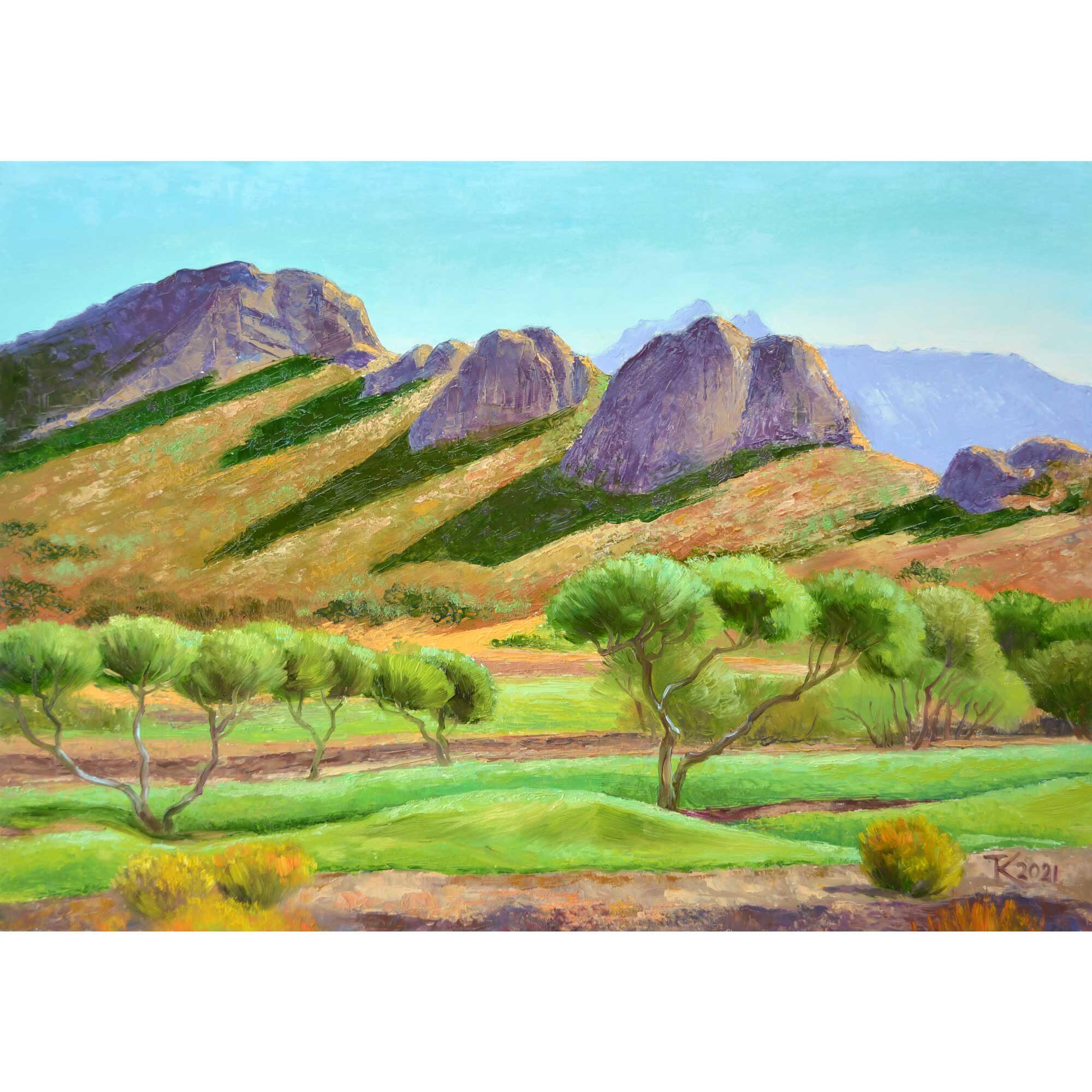 Тетяна Кучмій. Гора Динозавр, Арізона. 2021