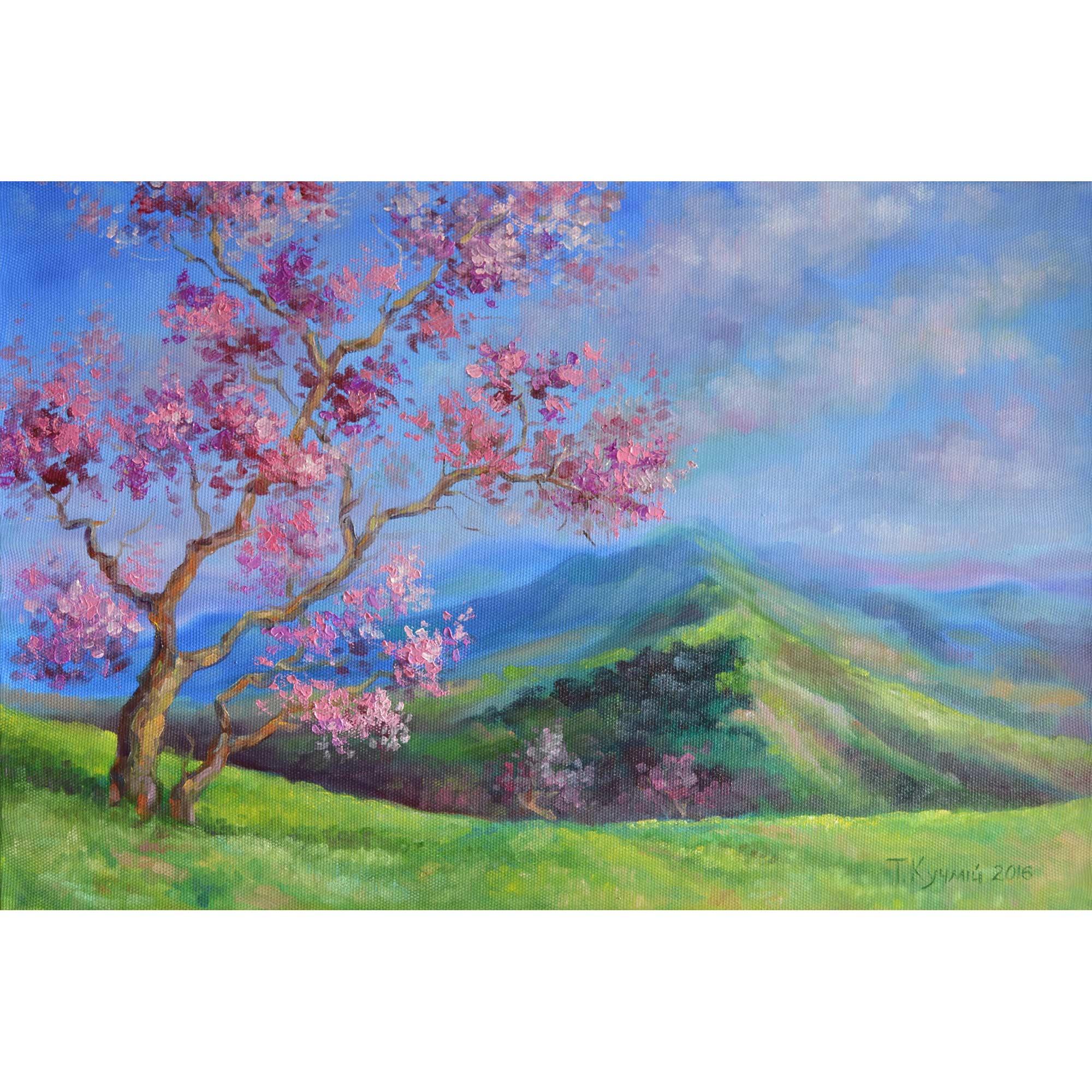 Весна у горах. 2016. Тетяна Кучмій