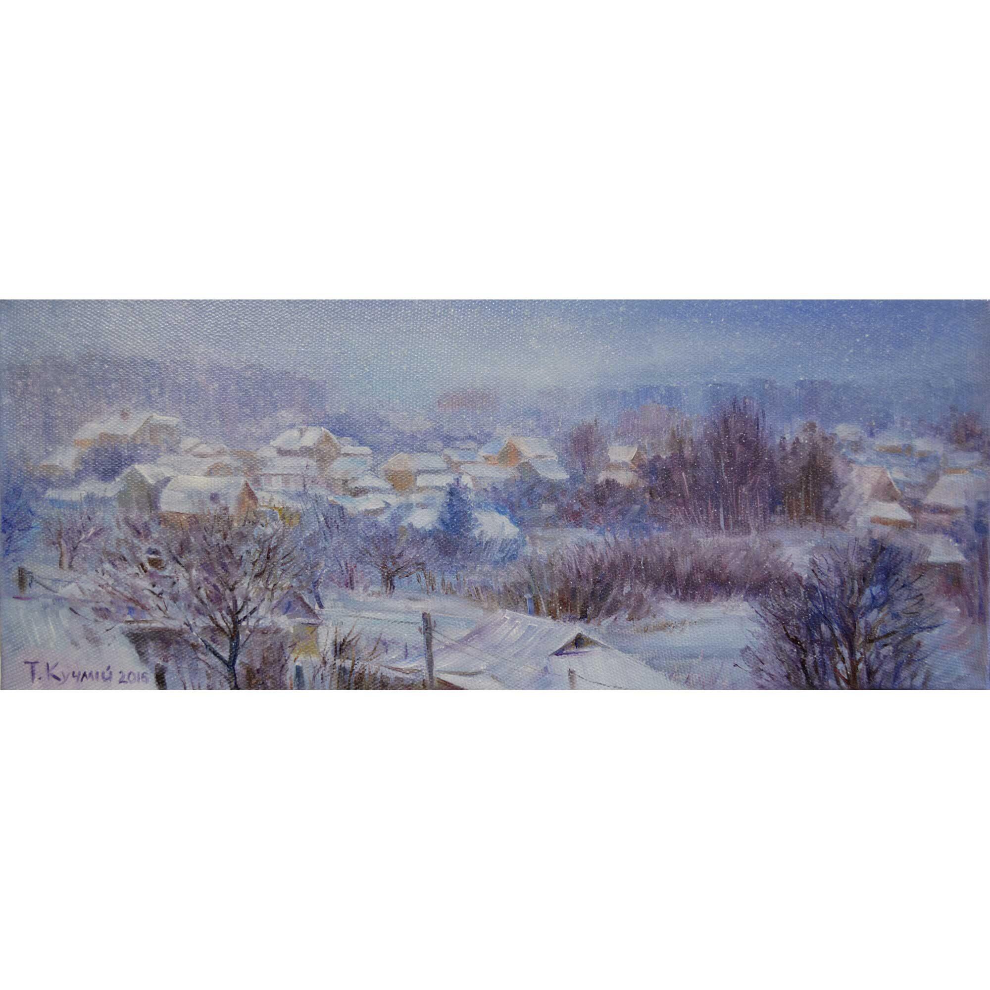 Зима за моїм вікном. 2016. Тетяна Кучмій