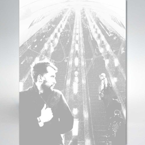 """Ілюстрація до збірки """"Недільне двокнижжя"""". Микола Боровко - 8 - Художник Тетяна Кучмій"""